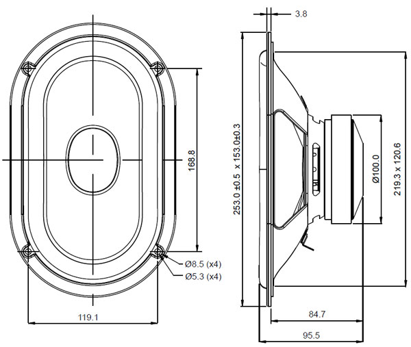 Mechanical Drawing Oval