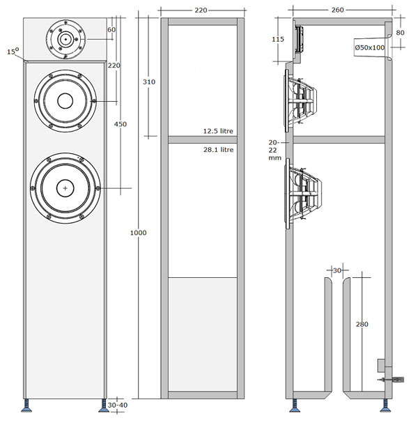 SBA-761 Cabinet plans