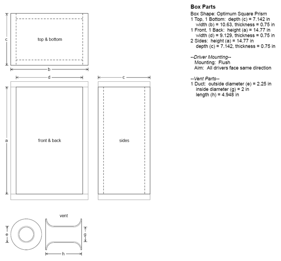 HDS Home Theater Kit Enclosure