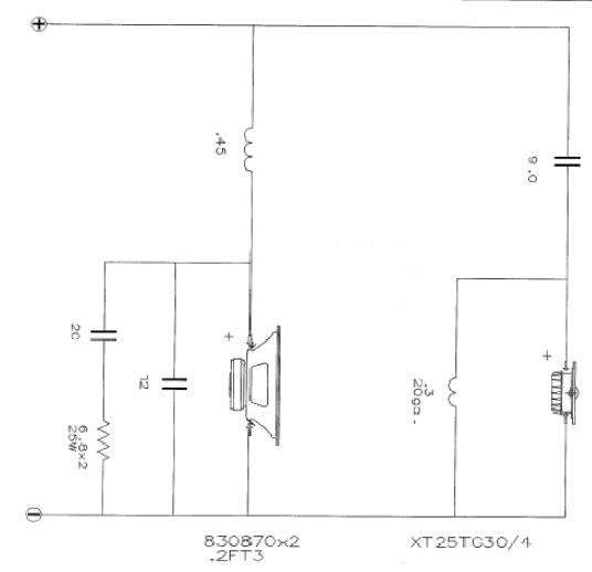 HDS Home Theater Kit Crossover