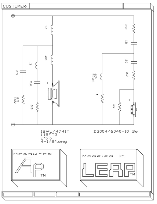 leap crossover designs by madisoundexample of leap crossover design results