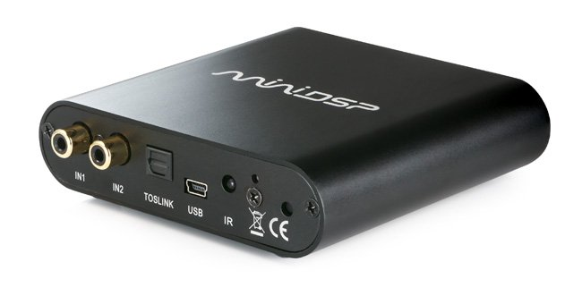 photo of miniDSP 2x4HD front