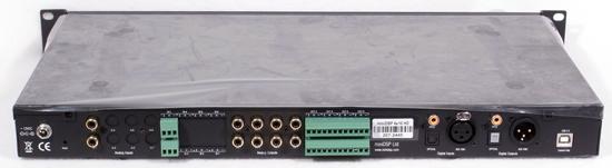 photo of miniDSP 4x10 HD back