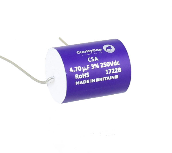 Claritycap Copperconnect 4 7mfd Poly Cap 250v