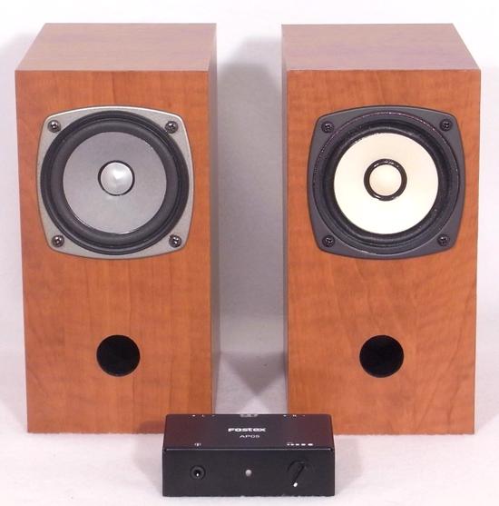 Fostex P800e Diy Kanspea 3 Quot Full Range Speaker Kit Pair