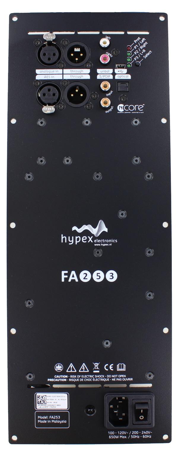 Hypex FusionAmp FA253 (250W+250W+100W)