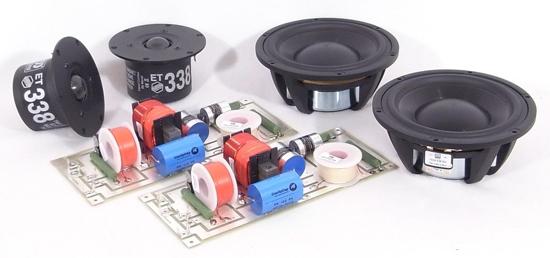 MoreTrix Morel 10-Way Speaker Kit, Pair