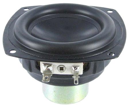 """Aurasound NS3-193-8A1 3"""" Black Cone wide range"""