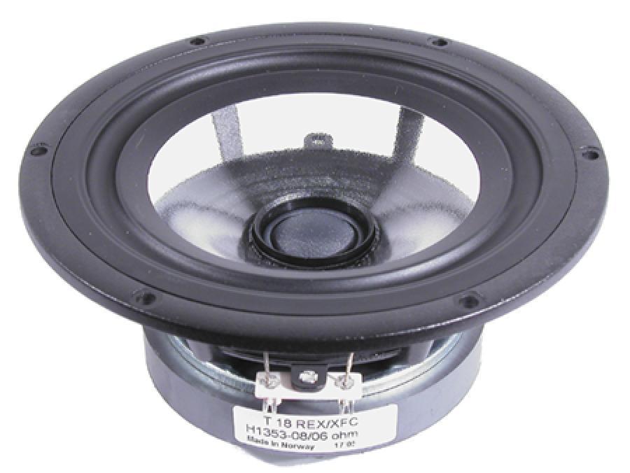 Seas Prestige T18rex Xfc H1353 7 Quot Coaxial Clear Cone