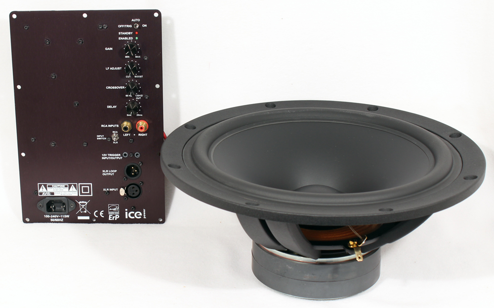"SB34 12"" Subwoofer Kit with SpeakerPower Amp"