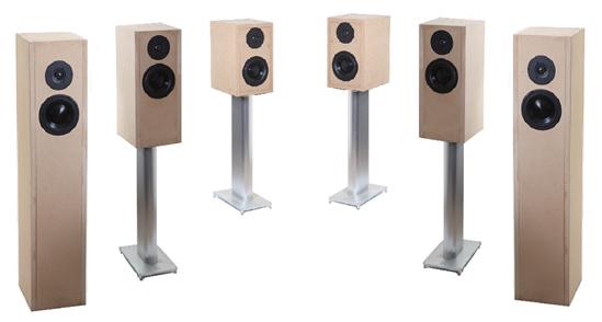 Moretrix Morel 2 Way Speaker Kit Pair