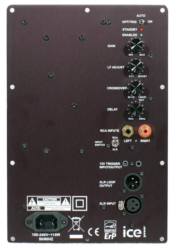 speakerpower sp1 300 subwoofer amplifier madisound speaker components