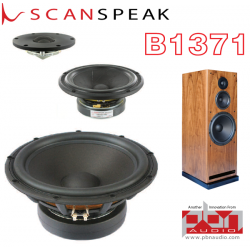 Scan-Speak Revelator B1371 Speaker Kit by Peter Noerbaek - Pair