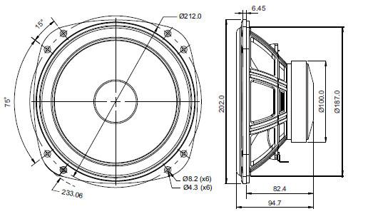 Mechanical Drawing - 202mm squarish