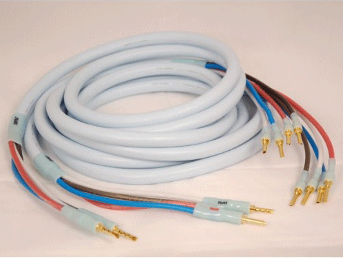 Photo of terminated Quadrax cable